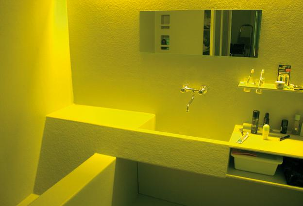 BADEZIMMER 1040 1040 VIENNA, A , 2003. BATH ROOM CLIENT: PRIVAT RANGE OF  WORK: CONCEPT / DESIGN / IMPLEMENTATION / BUILDING CONSTRUCTION.